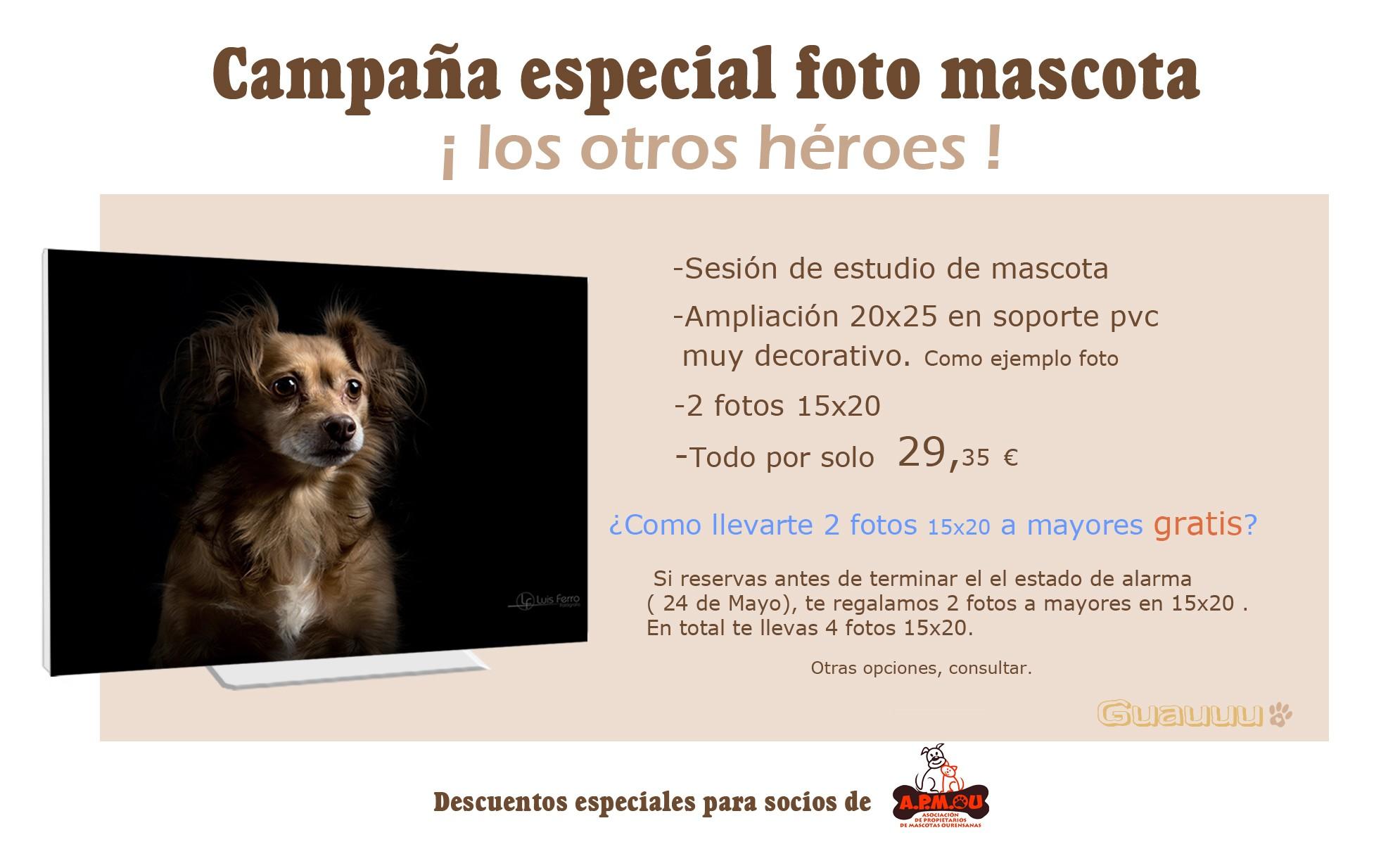 1 1 Campaña especial mascotas 29,35€